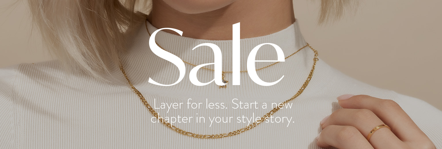 Sale: Layer for less. Start a new chapter in your style story.